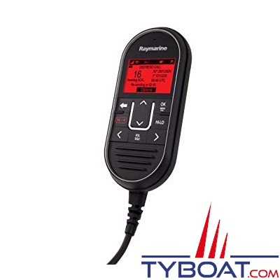 RAYMARINE - Combiné filaire RayMic pour VHF Ray60, Ray70, Ray90 et Ray91