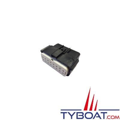 RAYMARINE - Connecteur CCM sans cosse pour câble section 14-16 AWG