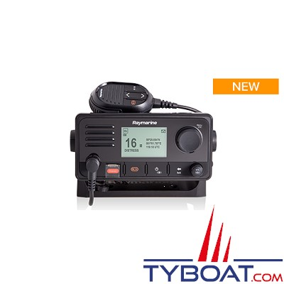 Raymarine - Émetteur-récepteur VHF Ray73 avec GPS intégré et AIS