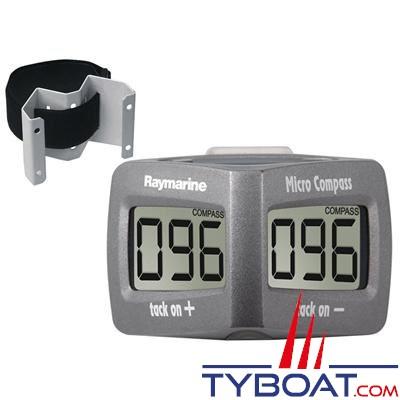 RAYMARINE - Micro Compass avec étrier de mât (inclus T005) - T061