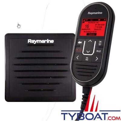 Raymarine - Pack station secondaire Ray90 inclus combiné Ray90, câble Y, Haut-parleur passif & 10 mètres de câble