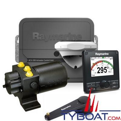 Raymarine - Pilote automatique Evolution EV-200 Moteur P70RS + EV1 + ACU-200 + câblage Seatalk Ng + pompe hydraulique T1