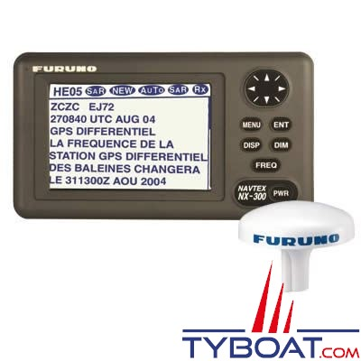 Furuno - Récepteur Navtex NX-300DPRO pro bifréquence 490/518 khz