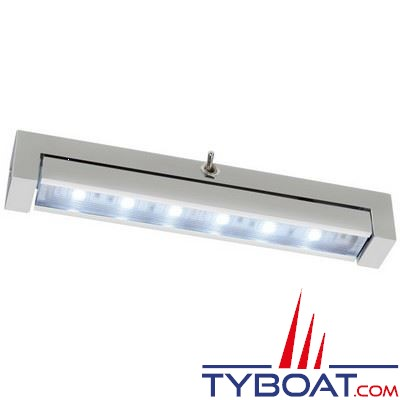 Réglette orientable à LEDs Quick Syria 15 10/30V 1,5W- IP40 - longueur 150mm Blanc naturel