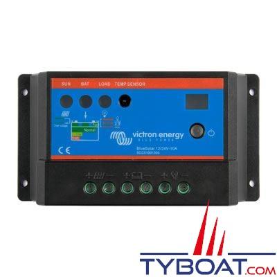 VICTRON ENERGY - Régulateur pour panneaux solaires BlueSolar 12/24 Volts 5 Ampères.