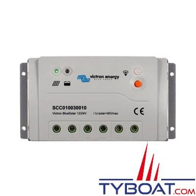 VICTRON ENERGY - Régulateur pour panneaux solaires BlueSolar PWM-Pro 12/24 Volts 20 Ampères.