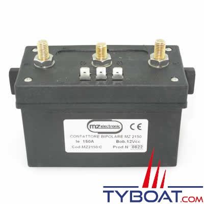 Relais montée-descente MZ Electronics Box 12 Volts 1500 Watts pour moteur 3 bornes