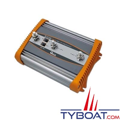 Répartiteur de charge électronique QUICK ECS162 1 entrée 2 sorties 160A avec borne de référence