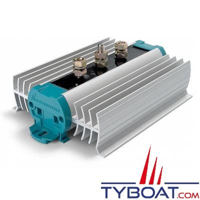 Mastervolt - Répartiteur de charge - BI 702S - 70 Ampères - 1 entrée 2 sorties avec diode de compensation -