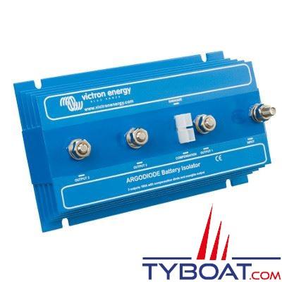 VICTRON ENERGY - Répartiteur de charge ArgoDiode 180-3AC 1 entrée 3 sorties 12/24 Volts 180 Ampères avec borne de référence