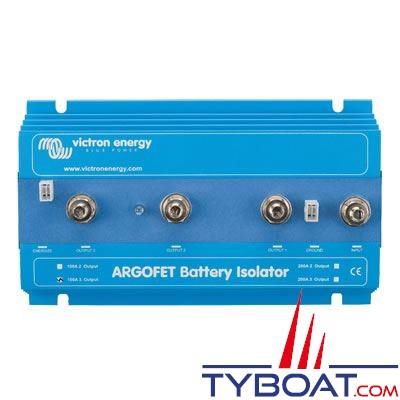 VICTRON ENERGY - Répartiteur de charge ArgoFet 1 entrée 2 sorties 12/24 Volts 100 Ampères (sans perte).