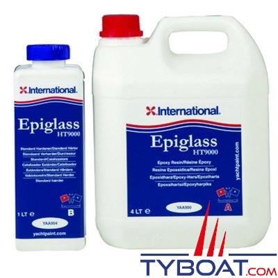 Résine époxy International Yachtpaint Epiglass HT9000 3,75 Litres Rapide