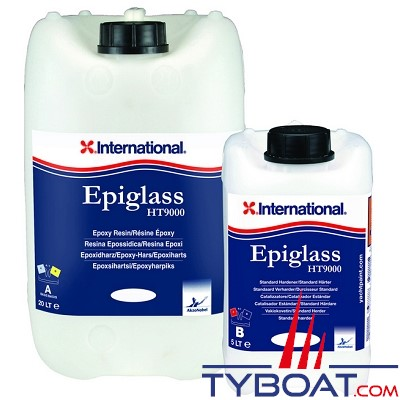 Résine époxy International Yachtpaint Epiglass HT9000 3,75 Litres Standard