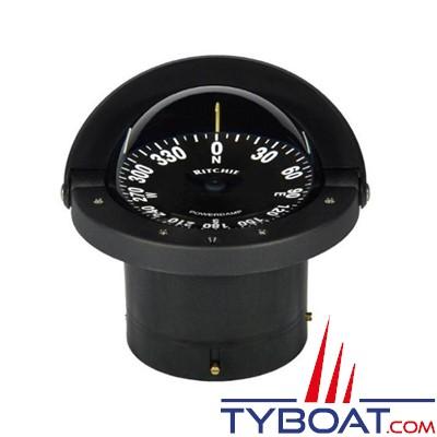 RITCHIE - Compas à encastrer FN-201 série Navigator -  couleur noir / lecture noire