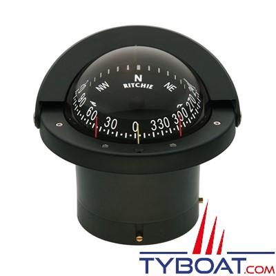 RITCHIE - Compas à encastrer FN-203 série Navigator -  couleur noir / lecture noire