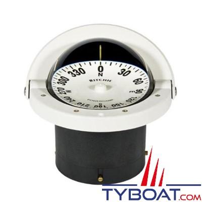 RITCHIE - Compas à encastrer FNW-201 série Navigator - couleur blanc / lecture blanche