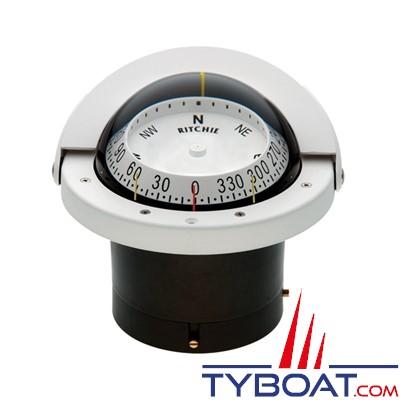 RITCHIE - Compas à encastrer FNW-203 série Navigator - couleur blanc / lecture blanche
