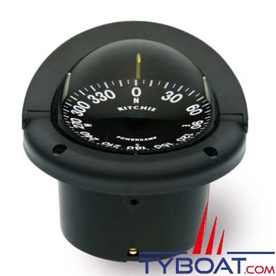 RITCHIE - Compas à encastrer HF-742 série Helmsman - couleur noir / lecture noire