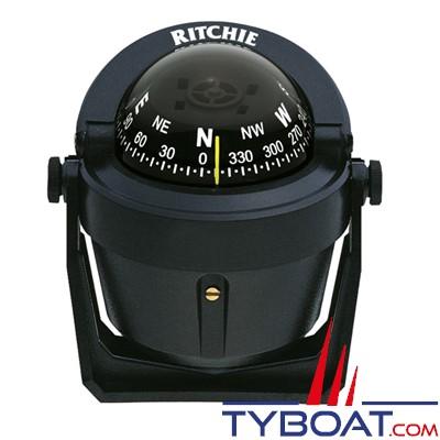 RITCHIE - Compas sur étrier B-51 série Explorer - couleur noir / lecture noire