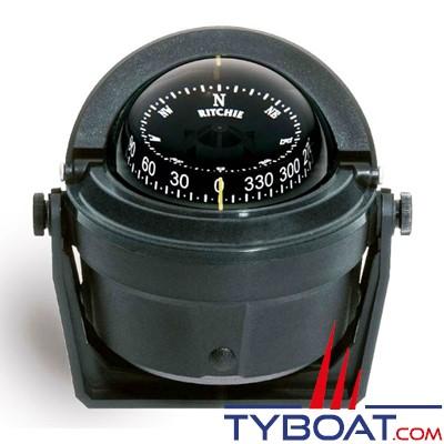 RITCHIE - Compas sur étrier B-81-WM série Voyager - Couleur noir / lecture noire