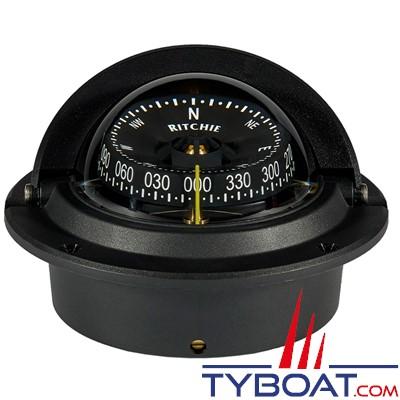 RITCHIE - Compas à encastrer F83 série Voyager certifié Wheelmark - couleur noir