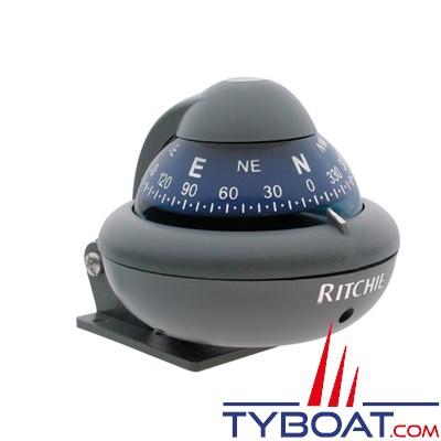RITCHIE - Compas sur étrier X-10-M  série RitchieSport - couleur gris