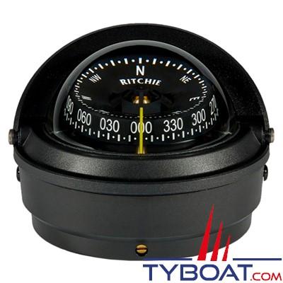 RITCHIE - Compas sur fût S-87 série Voyager certifié Wheelmark - couleur noir