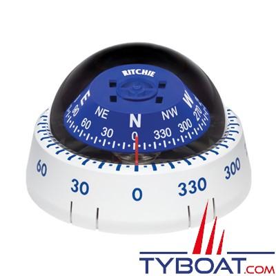 RITCHIE - Compas XP-99 série Kayaker - couleur blanc