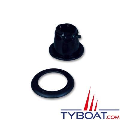 Riviera - Soufflet pour câble fermeture par collier - Ø int. 85 mm Ø ext. 94 mm - noir
