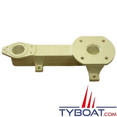 Embase liaison cuvette-pompe pour WC RM69