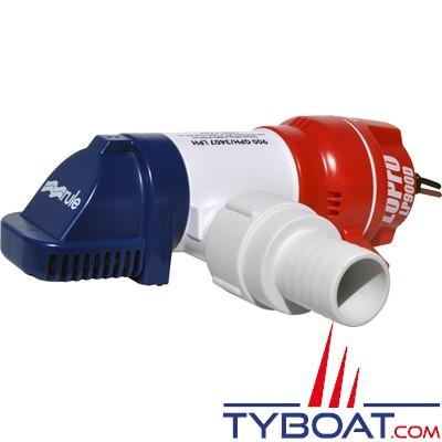 RULE - Pompe de cale LOPRO LP900D immergeable manuel 12V - 3400L/H