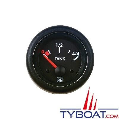 SEIN - Indicateur de niveau d'eau - 12 Volts - 300-10 Ohms - IP 65 - Ø 63 mm