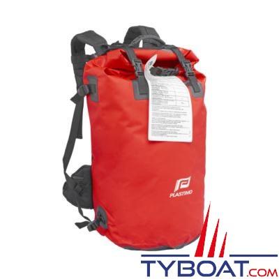 Plastimo - Sacs de survie étanche - Grab bag - 10 personnes - Sac à dos