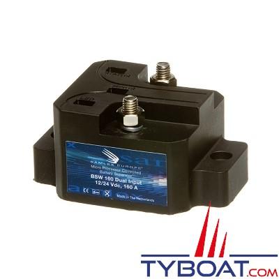 Samlex Europe - Séparateur de batterie - 12/24 Volts -  160 Ampères