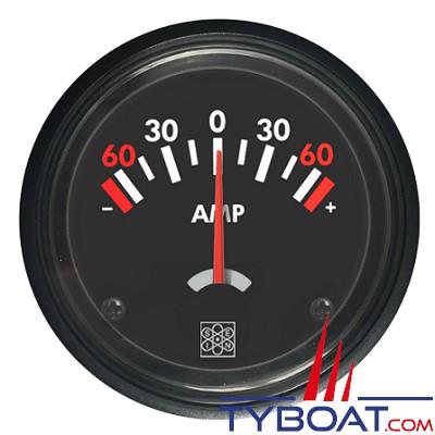 San Giorgio S.E.I.N - Ampèremètre direct 12/24v 60-0-60A