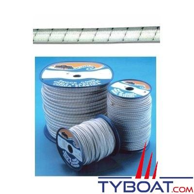 Sandow Trem Ø 8mm blanc et bleu bobine 50 mètres