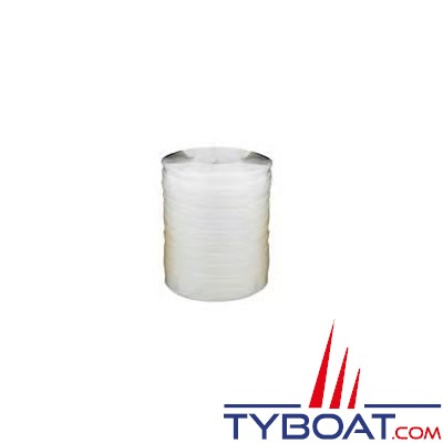 Sangle Euromarine polyester écru largeur 25 mm bobine 100m R=900