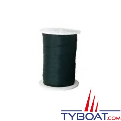 Sangle Euromarine polyester noir largeur 24mm bobine 100m R=900 DAN
