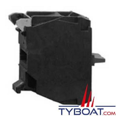SCHNEIDER ELECTRIC - Bloc contact à vis étriers pour boutons de boîte XAL-1F