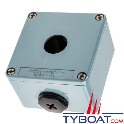 SCHNEIDER ELECTRIC - Boîte à bouton vide XAPM ouvertures diamètre 22 mm