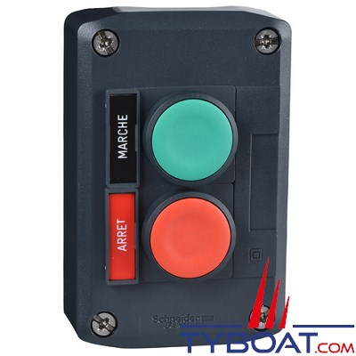 SCHNEIDER ELECTRIC - Boîte avec 2 boutons