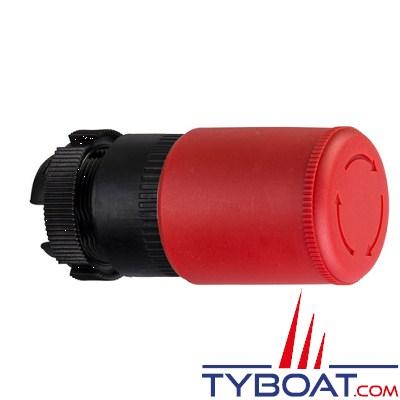 SCHNEIDER ELECTRIC - Tête arrêt d'urgence - pousser tourner - Ø 30 mm - rouge