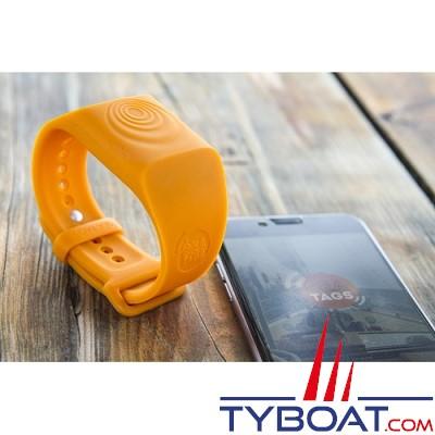 SEA-TAGS - Bracelet Système d'alerte d'homme à la mer - MOB (Unité)
