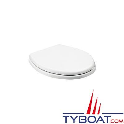 SEALAND - Abattant + couvercle blanc pour WC500