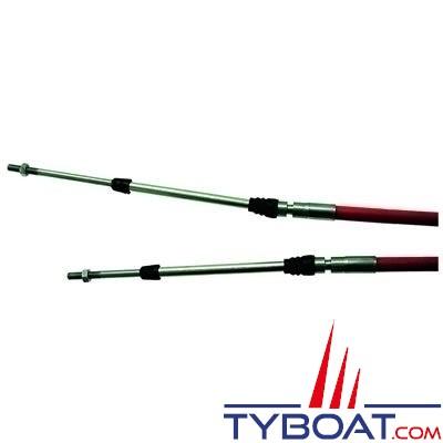 Seastar Solutions - Câble rouge de commande moteur 3300/33C midrange CC332 - 22ft - 6.70m