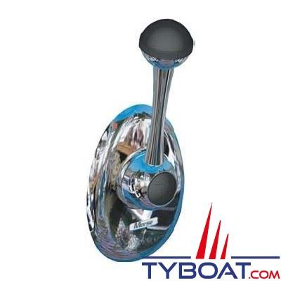 Seastar - Boîtier latéral encastré bi-fonction gaz/inverseur avec enjoliveur - CH2850