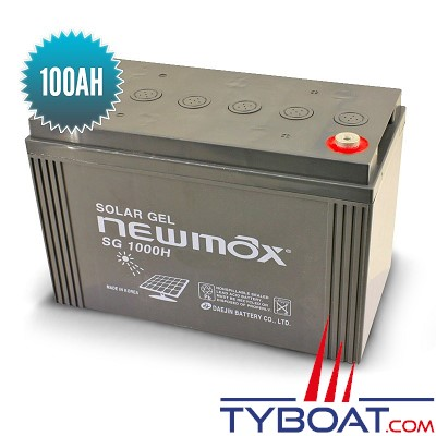 Seatronic - Batterie Gel Newmax 12 volts / 100 Ah
