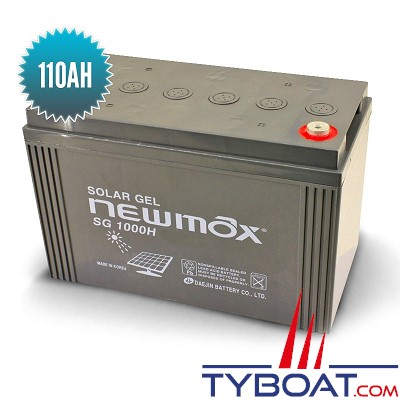 Seatronic - Batterie Gel Newmax 12 volts / 110 Ah