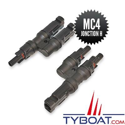 Seatronic - Connecteurs MC4 de jonction H (1M-2F + 2M-1F )