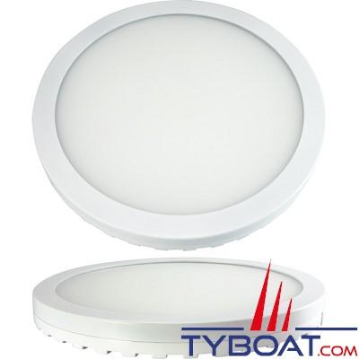 Seatronic - Spot Blanc  à LEDs blanc chaud - 20 watts - 3500K - 10/30 volts -  étanche IP 65